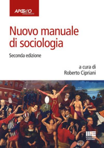 Nuovo manuale di sociologia - R. Cipriani pdf epub