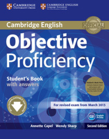 Objective Proficiency 2nd edition Student's book pack