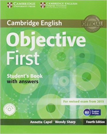 Objective first certificate. Student's book. With answers. Per le Scuole superiori. Con CD-ROM. Con espansione online