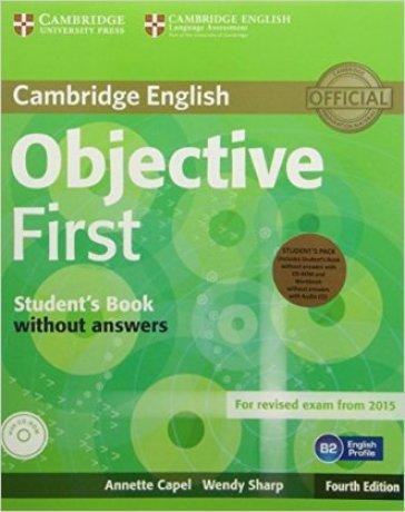 Objective first certificate. Student's book-Workbook. Per le Scuole superiori e CD-ROM. Con CD Audio. Con espansione online