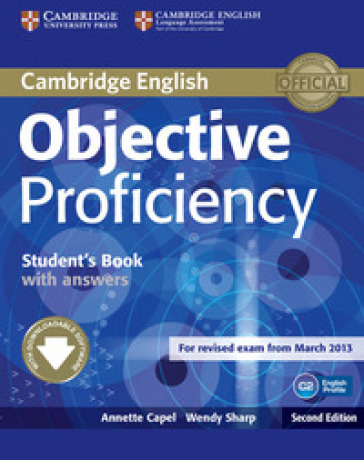 Objective proficiency student's book with answers. Per le Scuole superiori. Con espansione online