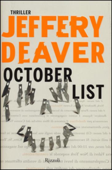 October List - Jeffery Deaver | Rochesterscifianimecon.com
