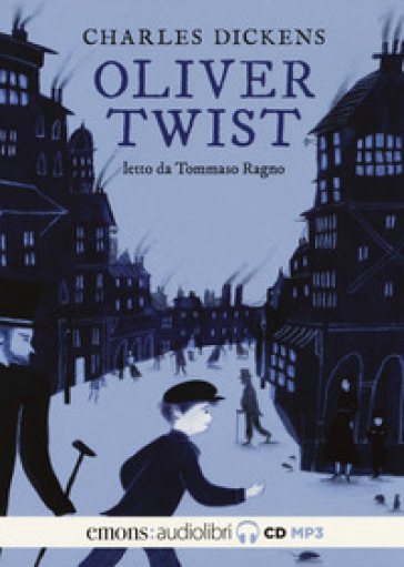 Oliver Twist letto da Tommaso Ragno. Audiolibro. 2 CD Audio formato MP3 - Charles Dickens |