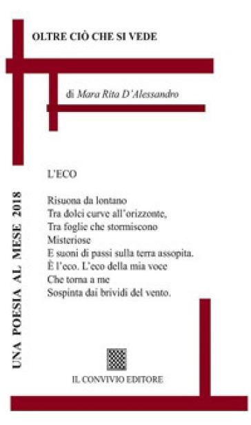 Oltre ciò che si vede - Mara Rita D'Alessandro |