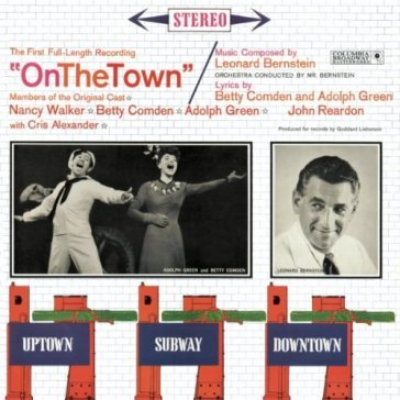 On the town-studio cast..