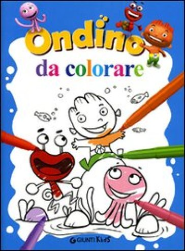 Ondino da colorare