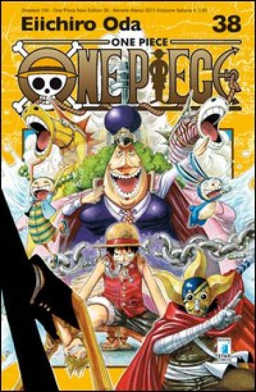 One piece. New edition. 38. - Eiichiro Oda | Rochesterscifianimecon.com