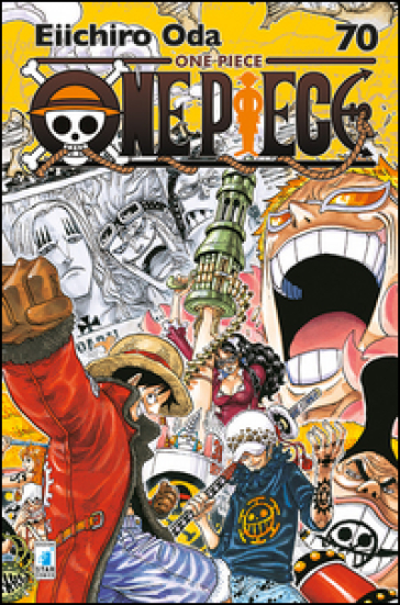 One piece. New edition. 70.