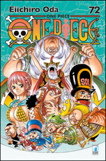 One piece. New edition. 72. - Eiichiro Oda | Rochesterscifianimecon.com