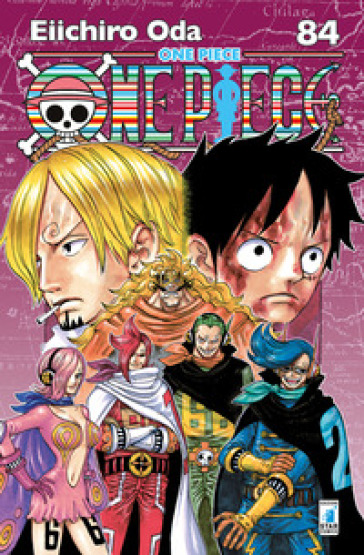 One piece. New edition. 84.