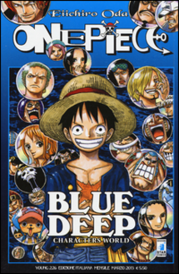 One piece blue deep - Eiichiro Oda |