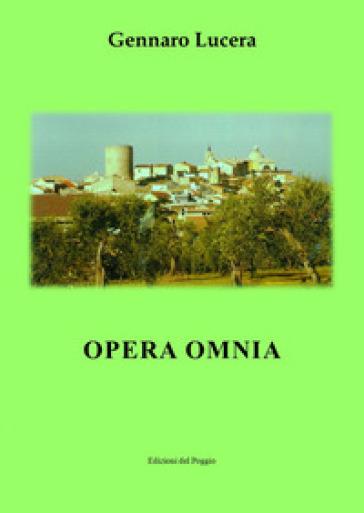 Opera omnia - Gennaro Lucera  