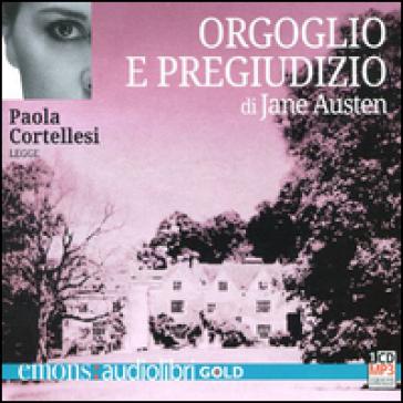 Orgoglio e pregiudizio letto da Paola Cortellesi. Audiolibro. CD Audio formato MP3 - Jane Austen | Kritjur.org