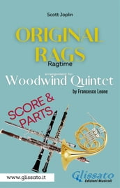 Original Rags - Woodwind Quintet (score & parts)