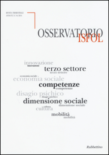 Osservatorio Isfol (2015) vol. 3-4