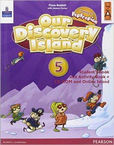 Our discovery island. Per la Scuola elementare. Con e-book. Con espansione online. 5. - Fiona Beddall   Rochesterscifianimecon.com