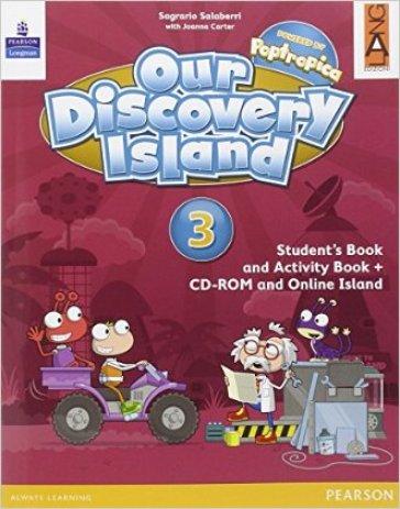 Our discovery island. Per la Scuola elementare. Con CD-ROM. Con e-book. Con espansione online. 3. - Sagrario Salaberri pdf epub