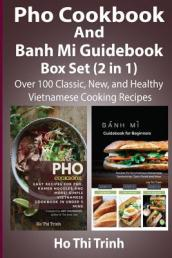 PHO Cookbook and Banh Mi Guidebook Box Set (2 in 1)