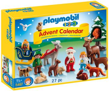 Calendario Avvento Playmobil.Playmobil Calendario Avvento Foresta 123