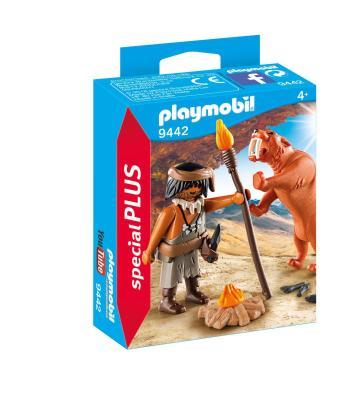Playmobil uomo preistorico con tigre idee regalo mondadori store