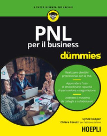 PNL per il business for dummies - Lynne Cooper | Thecosgala.com