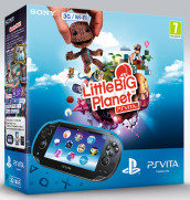 PS Vita 3G+MemCard 4GB+Little Big Planet