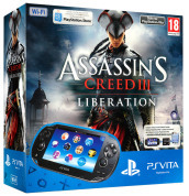 PS Vita WiFi+Card 4GB+Vouch. Ass.Creed 3
