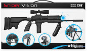 PS3 Move Sniper Gun Black