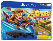 PS4 1TB + Crash Team Racing NF + 2DS4