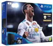 PS4 1TB + FIFA 18 + PS Plus 14 Days