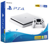 PS4 500GB E CHASSIS WHITE