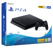 PS4 500GB E Chassis Black