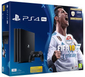 PS4 PRO 1TB + FIFA 18 + PS Plus 14 Days