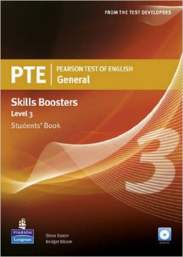 PTE. Pearson test of english. Skills booster. Level 3. Student's book. Con CD Audio. Per le Scuole superiori