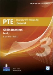 PTE. Pearson test of english. Skills booster. Level 3. Student