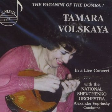 Paganini of the domra-liv