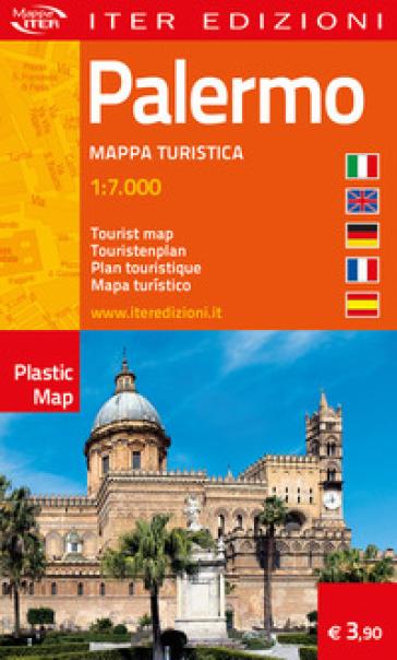 Palermo. Mappa turistica 1:7.000. Ediz. multilingue