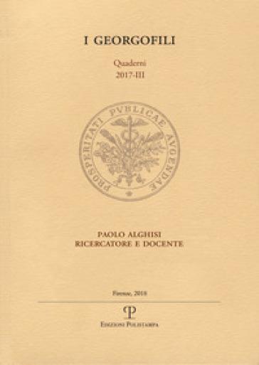 Paolo Alghisi ricercatore e docente