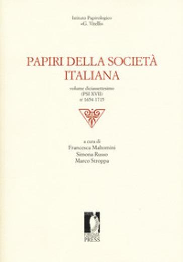 Papiri della società italiana. 17.