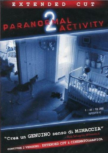 Paranormal activity 2 (DVD)(extended cut)