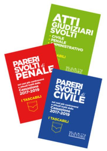 Pareri svolti di civile-Pareri svolti di penale-Atti giudiziari svolti. Civile, penale, amministrativo