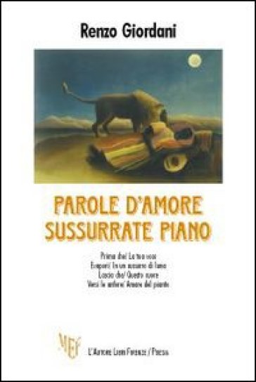 Parole d'amore sussurate piano - Renzo Giordani pdf epub