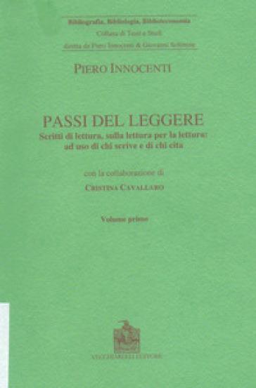 Passi del leggere - Piero Innocenti | Jonathanterrington.com