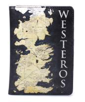 Passport Wallet (Boxed) - Game Of Thrones (Westeros)