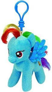 Peluche a Clip My Little Pony Rainbow