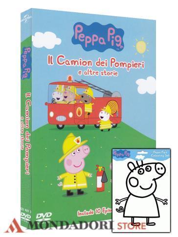 Peppa Pig Il Camion Dei Pompieri E Altre Storie Dvd Fogli Con