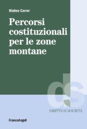 Percorsi costituzionali per le zone montuose