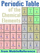 Periodic Table Of The Chemical Elements (Mendeleev s Table): Including Tables Of Melting & Boiling Points, Density, Electronegativity, Electron Affinity, And Much More (Mobi Study Guides)