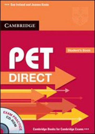 Pet direct. Student's book-Workbook without answers. Per la Scuola media. Con CD-ROM