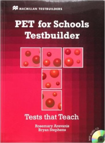 Pet for school. Testbuilder. Con CD Audio. Per le Scuole superiori